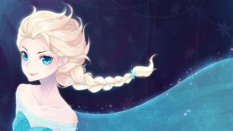 frozen beautiful wallpaper frozen elsa anna digital fan art wallpapers