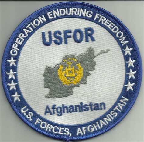 us army military unit patch iraq united states forces operation enduring freedom