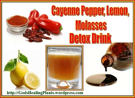 Whole Lemon Detox Drink by Cayenne Pepper Lemon Molasses Detox Drink Cayenne