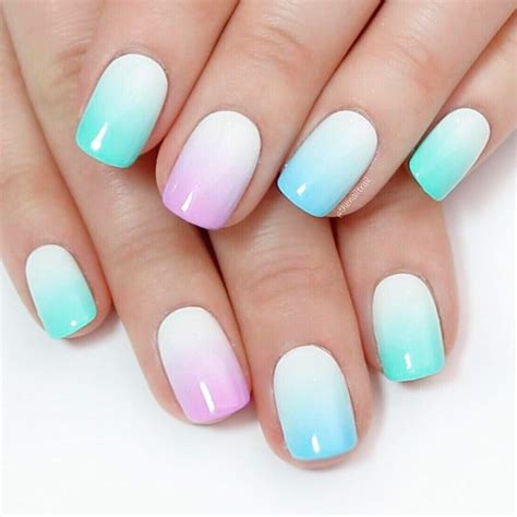 Gel Nail Ombre Designs