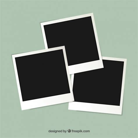 cornice gratis polaroid cornici scaricare vettori gratis