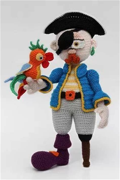 knitting pattern for a pirate doll 363 best crochet amigurumi people elves such