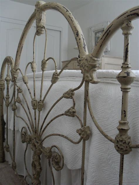 antique iron headboards best 25 iron bed frames ideas on pinterest