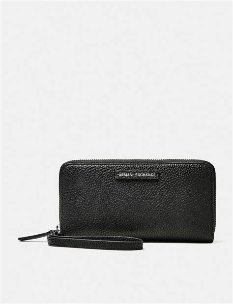 Armani Exchanges Dompet Walet armani exchange pop color wristlet wallet wallet for a x store