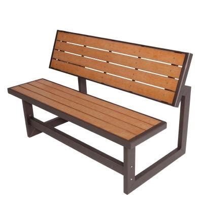 lifetime bench table lifetime convertible patio bench 60054 the home depot