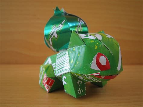 Squirtle Origami - aluminum can origami gallery this is the story of
