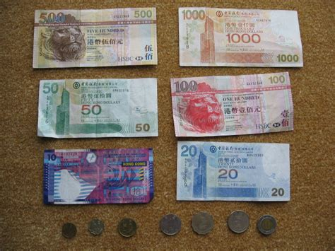 currency hkd macau hongkong currency