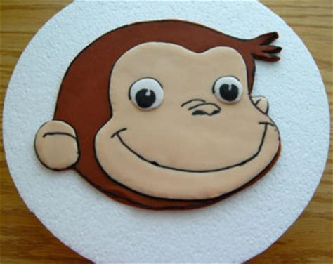 Monkey Template For Cake by Monkey Topper Etsy