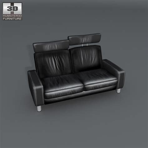 high back settee keoki 3d high back settee with arms space two seat sofa high back 3d model humster3d
