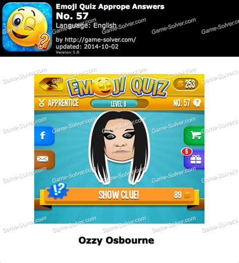 emoji quiz level 57 emoji quiz no 57 game solver