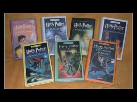 harry potter libros pdf espanol latino gratis saga completa libros de harry potter gratis pdf completos youtube