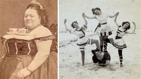 era victoriana photos showing that victorians weren t that serious