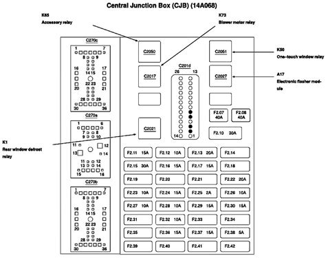2007 ford taurus fuse box diagram ford taurus questions there s not a diagram pic