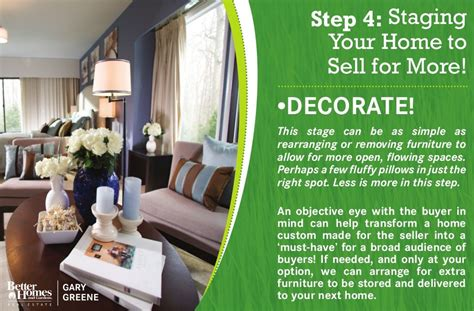 staging your house to sell helpful information for home sellers