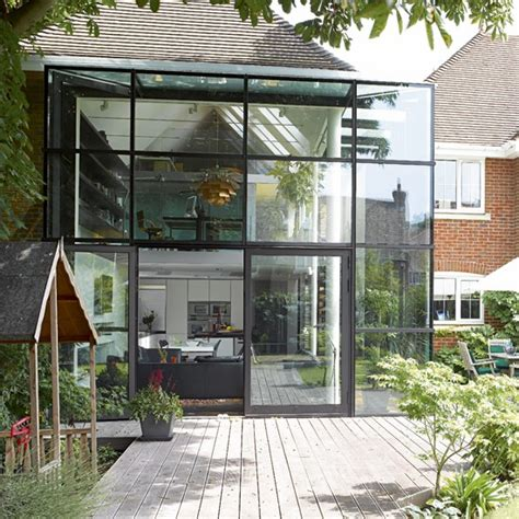 Home Design Magazines South Africa take a tour around a glass extension house housetohome co uk