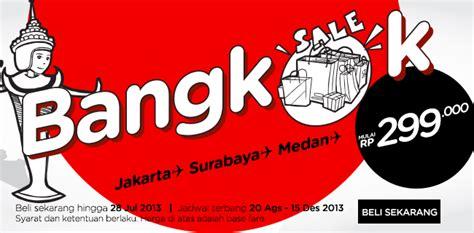 Tiket Call Jakarta Bangkok Mix Promo Bagasi tiket promo air asia pengetahuan bandar udara