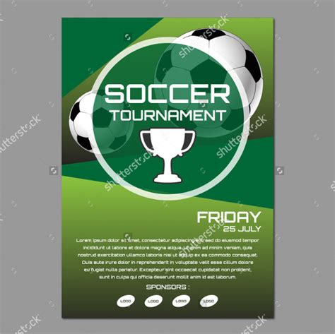 Soccer Cup Flyer Templates 27 Free Psd Ai Eps Format Download Soccer Tournament Schedule Template