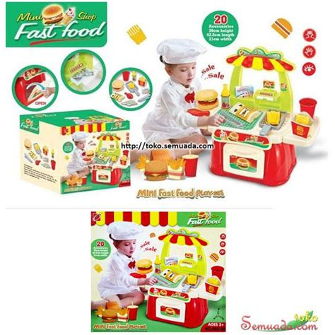Dus Royal Merah Box Packaging Kue 20 Cm jual murah mini fast food play set toko semuada bunda salsabila