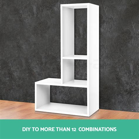 diy display cube l shelf sidetable cabinet storage corner