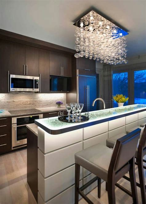 Modern Kitchen Lighting Ideas 37 Multifunctional Kitchen Islands With Seating