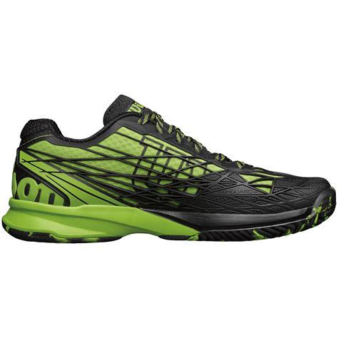 Kaos 90 S Green wilson mens kaos tennis shoes green black tennisnuts