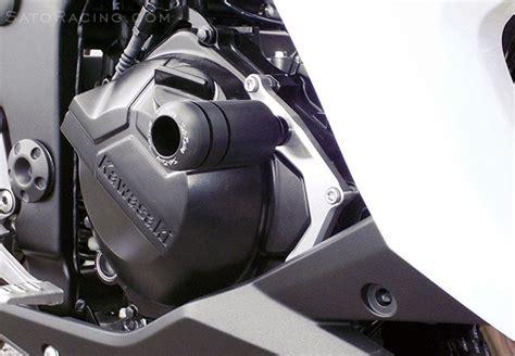 Frame Slider Kawasaki Z250 sato racing engine sliders kawasaki z300 er300 z250 13
