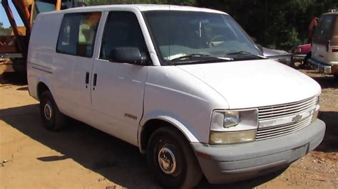 scrapped  chevy astro van youtube