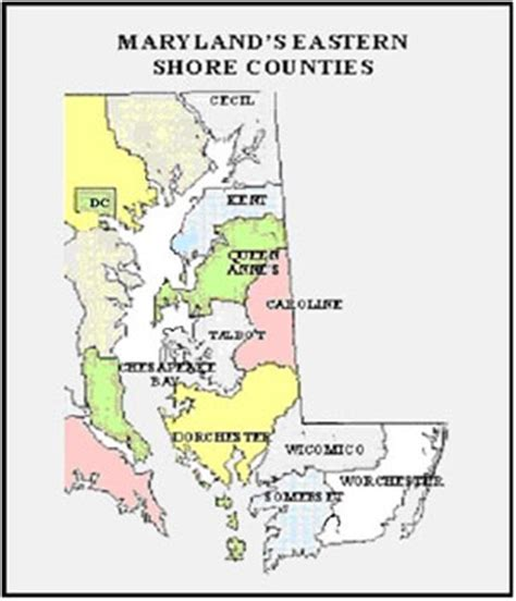 map maryland eastern shore counties edward smith descent by seadescent by sea