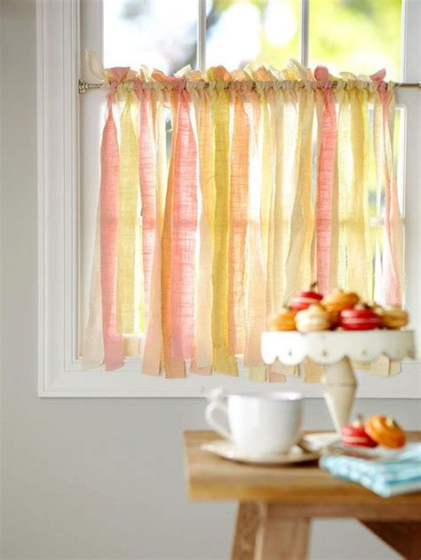 diy kitchen curtain ideas 25 adorable diy curtains