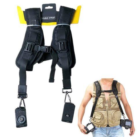 Neck Tali Kamera Sony tali kamera praktis bisa membawa dua kamera tanpa membuat leher pegal tokokomputer007