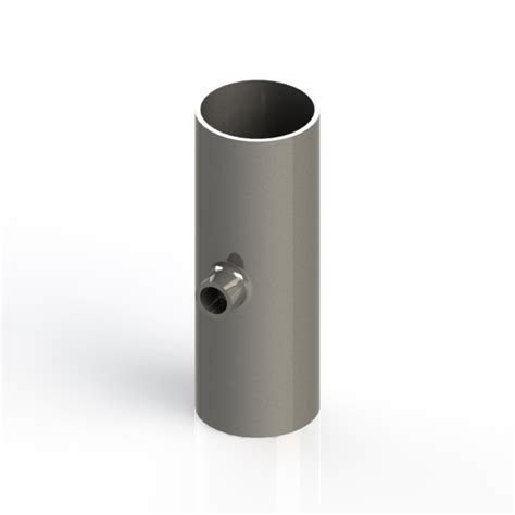 Vacuum Fitting Wall Fitting 1 5in Hitam buttweld 4 way reducing cross weld on 1 5 x 0 5 inch od vacuum fittings