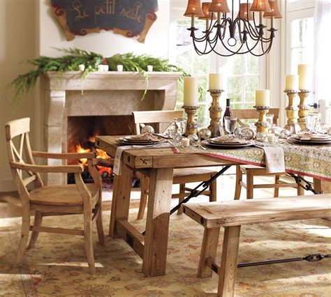 Pottery Barn Benchwright Table tony s top 10 tips how to decorate a beautiful