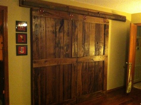 Barn Door Closet Barn Doors For The Bedroom Closet Household Idea S Pinterest