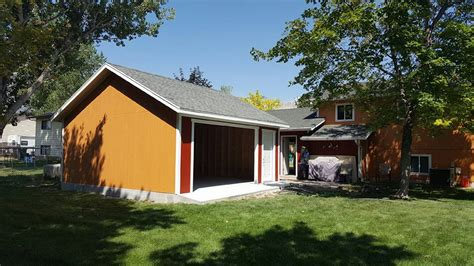 detached garages wright s shed co harrisville detached garage utah wright s shed co