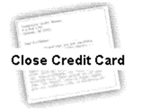 credit card closing letter template sle letter for closing a credit card account