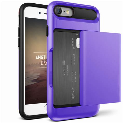 for iphone 6s 8 plus heavy credit card holder wallet protective cover ebay