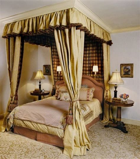 how to hang curtains on a canopy bed 15 amazing canopy bed curtains design ideas rilane