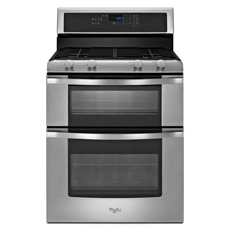 List Oven Gas whirlpool 6 0 cu ft oven gas range with self cleaning oven in stainless steel