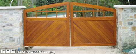 Swinging Custom Wood Geis Garage Doors Milwaukee Geis Garage Doors