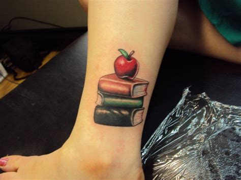 teacher tattoo designs best 25 apple ideas on tattoos