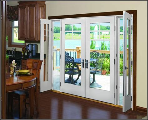 exterior french patio doors outswing patios home