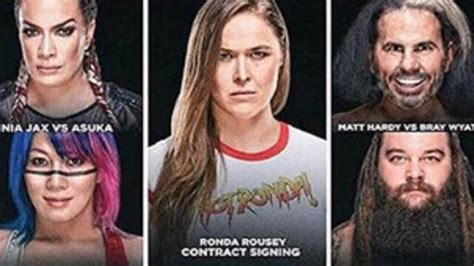 hairstyles kn boone ronda rousey comments on her segment at tonight s wwe