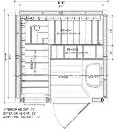 sauna floor plans pf55 nordic spruce 3 person pre built saunas 2 249 95
