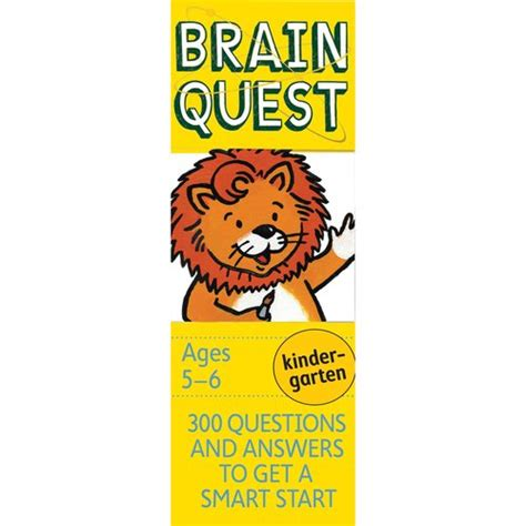 brain quest kindergarten 300 questions and answers to get