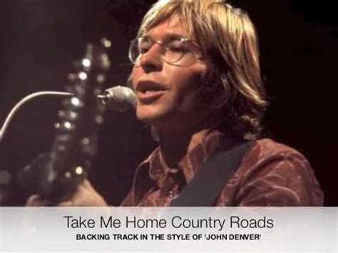 take me home country roads by denver midi file