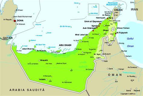 uae on the map map of united arab emirates united arab emirates maps