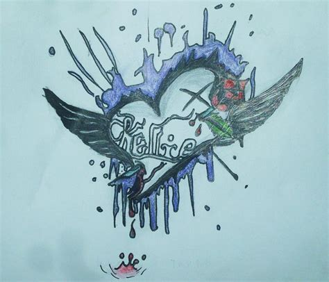 emo tattoo design by take it away18 on deviantart