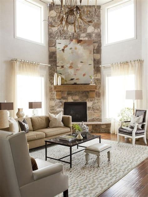 living room with stone fireplace alice lane home living rooms corner fireplace living