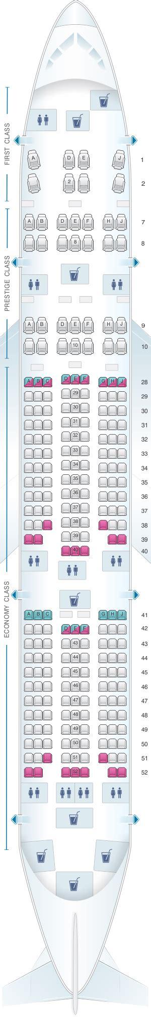 korean air seat seat map korean air boeing b777 200er 248pax seatmaestro
