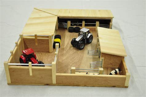 Set Catte livestock yard wooden handcrafted farm sets nortern